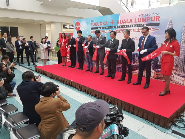 FUK welcomes 3rd new airline with AirAsia X