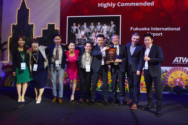Fukuoka Airport won the highly commended Routes Asia Award 2019