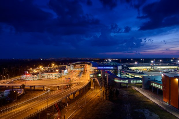 Terminal D - Sheremetyevo International Airport named after A.S. Pushkin