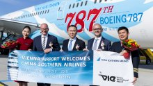 Vienna Airport welcomes China Southern