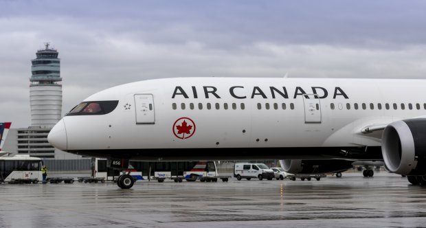 Air Canada at Vienna Airport