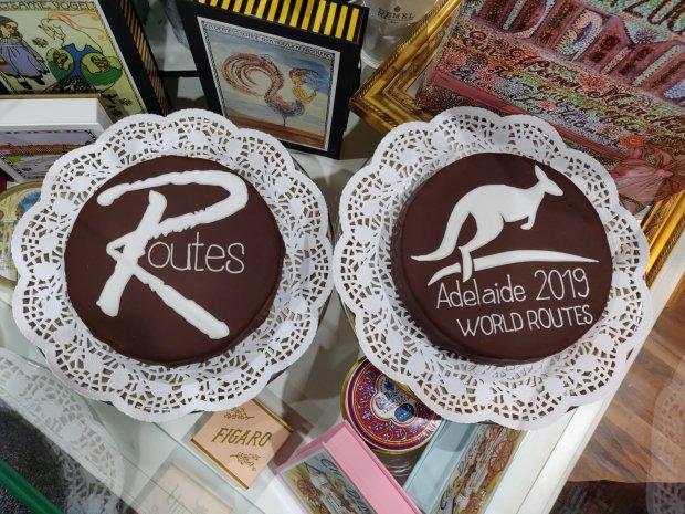 World Routes 2019 Adelaide - Vienna Airport Cuisine