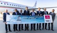 Vienna Airport - Welcomes Royal Air Maroc