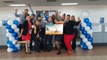 AAA celebrates JetBlue Anniversary