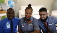 Aruba celebrates jetblue anniversary