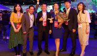 FIAC Traffic Development Division staff Ms Qiongfang Hu won the inaugural Rising Star Award at World Routes 2019