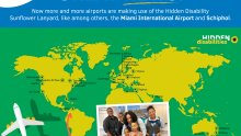 PROUD to see Curaçao International Airport on this map!