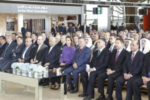 Queen Alia International Airport's new terminal was formally inaugurated on March 14, 2013 and officially opened on March 21, 2013