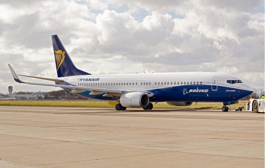 Ryanair - Boeing Livery