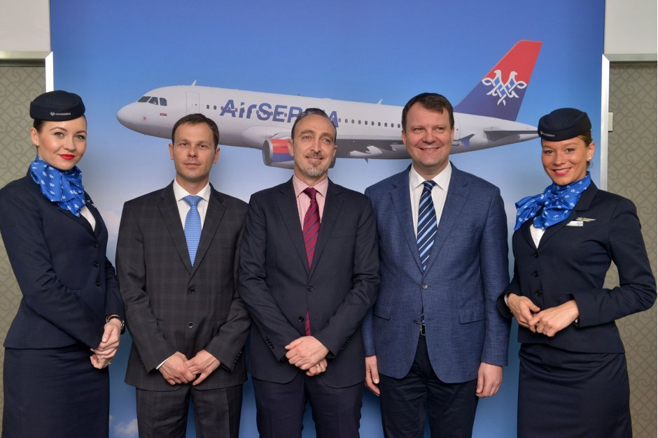 Air Serbia Press Conference