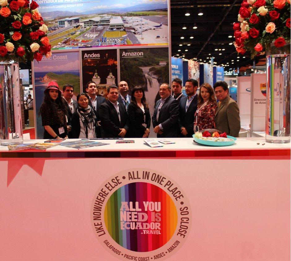 Ecuador at World Routes 2014