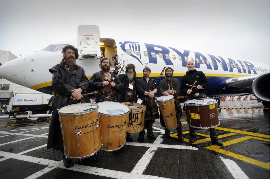 Ryanair opens Glasgow International Airport base