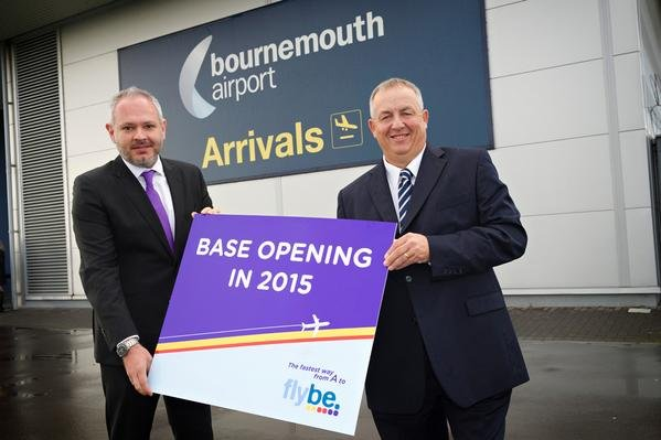 Flybe Opens Bournemouth Base