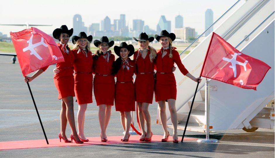 Virgin America Dallas
