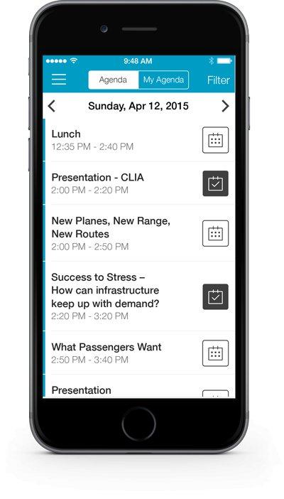 App schedule