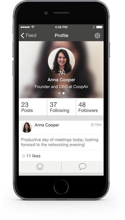 App image - profile
