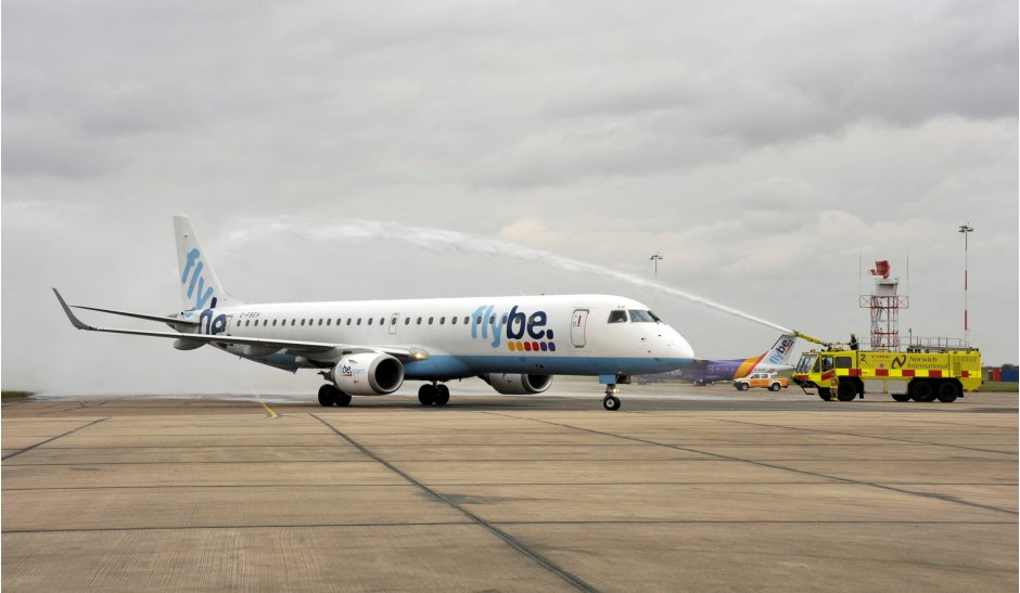 Norwich Flybe Embraer