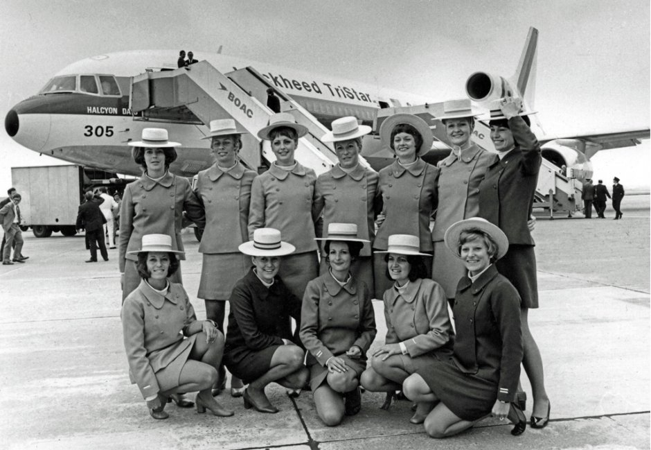 Old Airline Uniform