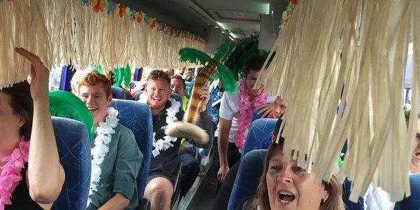 Air NZ Bus to Hawaii