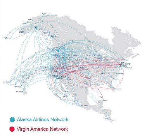 Alaska - Virgin America Network