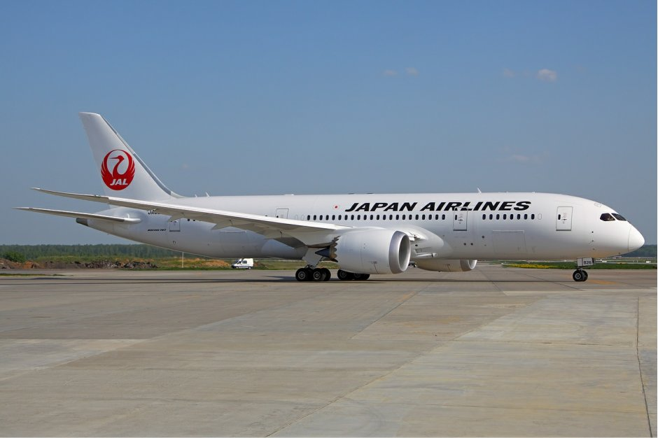 Routes Europe JAL 787