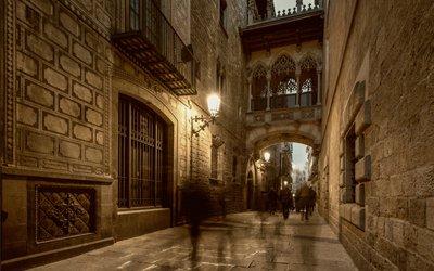 Historic Barcelona Street