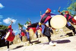 Eisa, traditional Okinawan dance