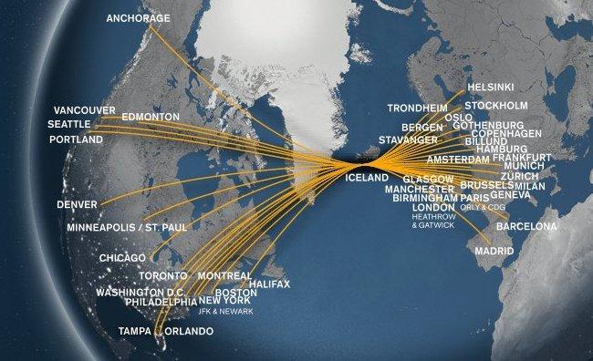 Icelandair Network