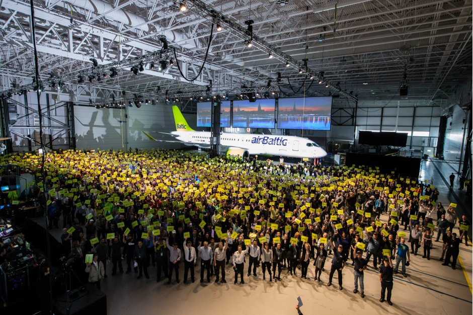 airBaltic CSeries Delivery