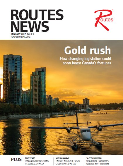 Routes News 1, 2017 Cover