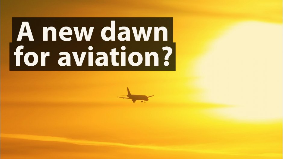 A new dawn for aviation