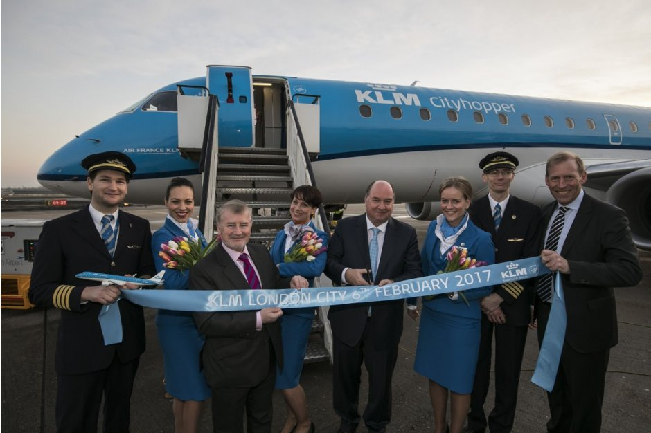 KLM AMS-LCY