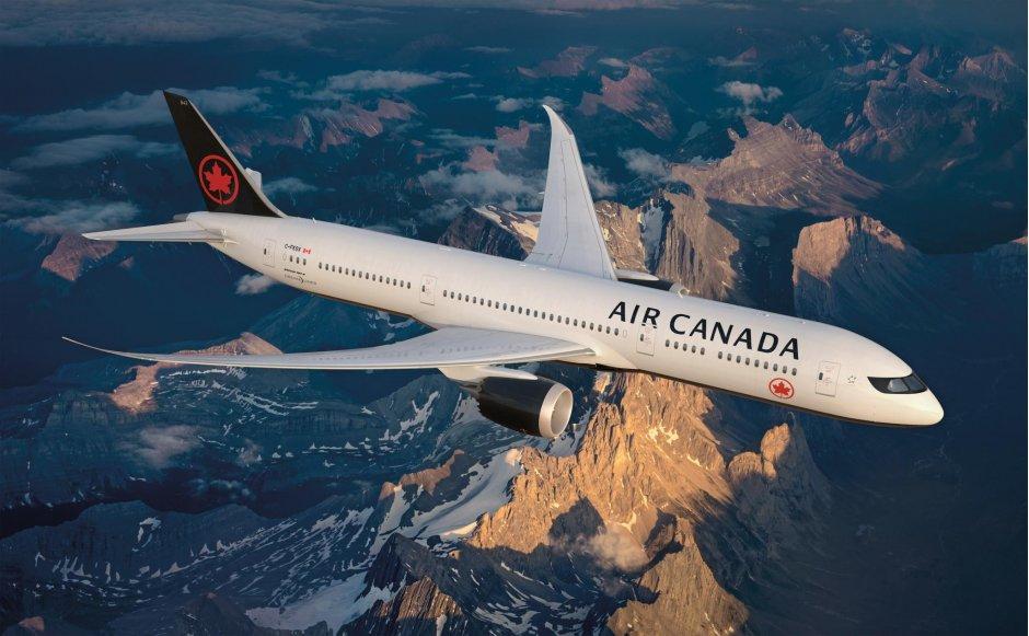Air Canada livery
