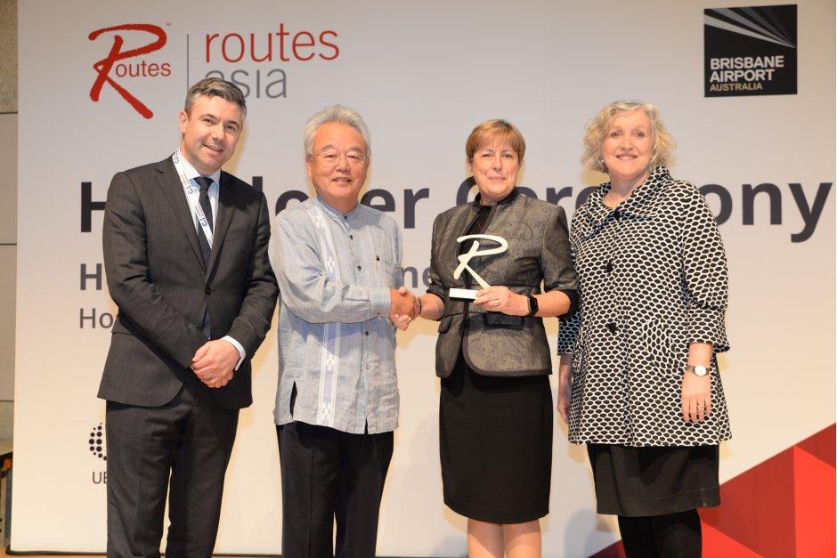 Routes Asia Handover