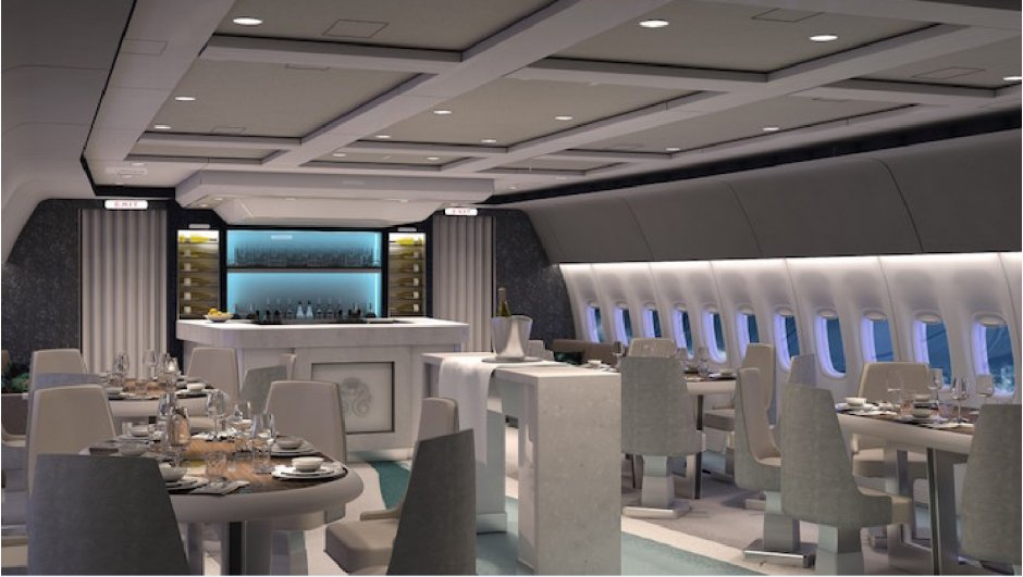 Crystal Luxury Air Dinner