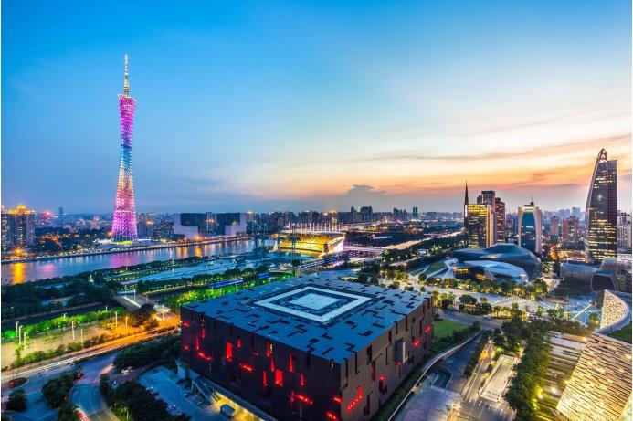 Canton Tower and Guangzhou Opera