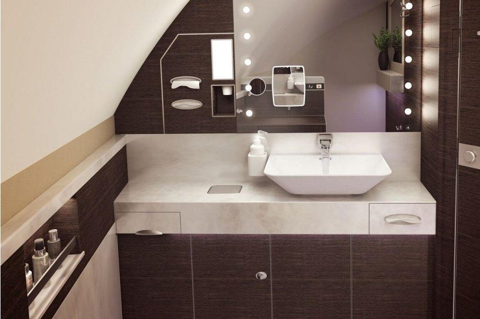 SIA Suite lavatory