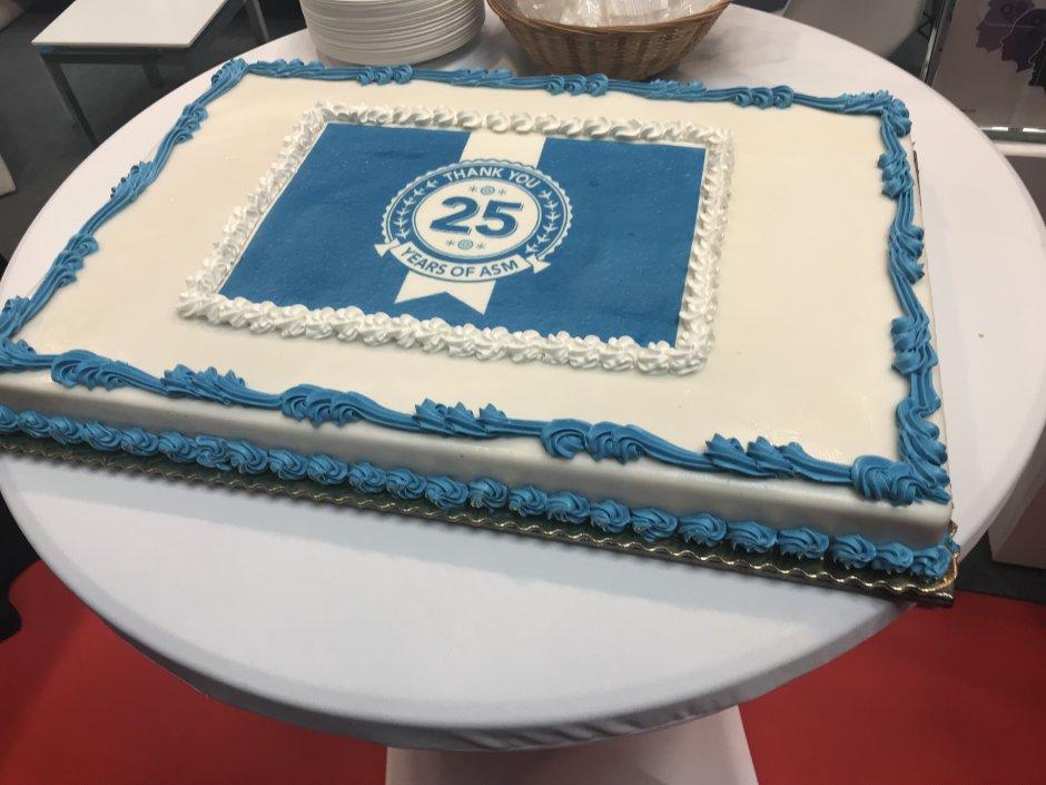 ASM 25 years cake