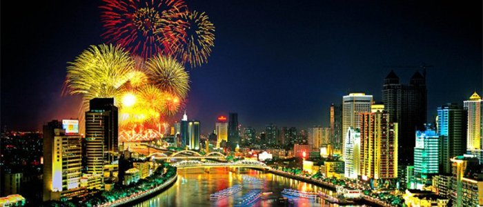 Fireworks display - pearl river cruise