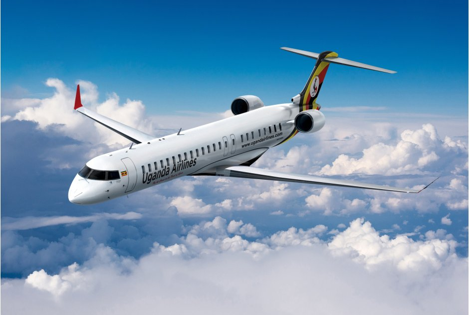 Uganda National Airlines is to buy four CRJ900 regional jets