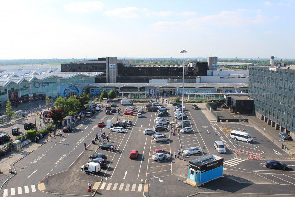 Birmingham Airport terminal