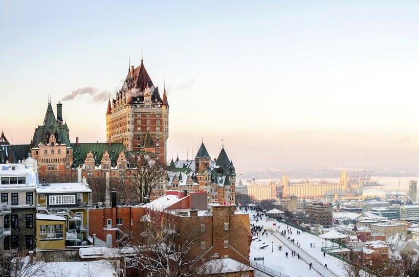 Quebec sky