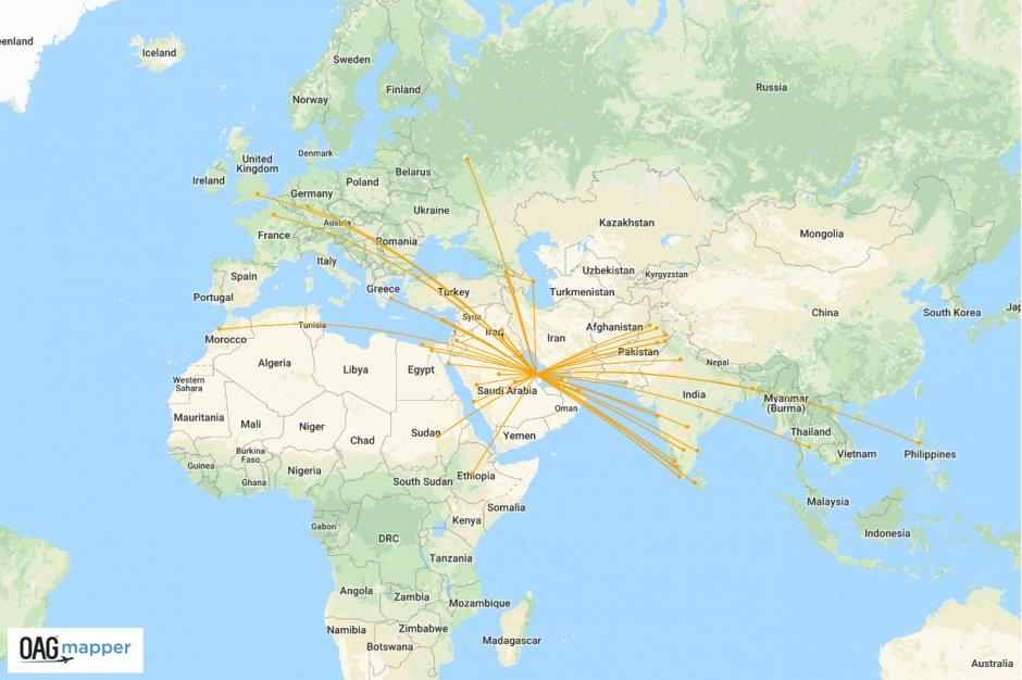 gulf air network winter 2018