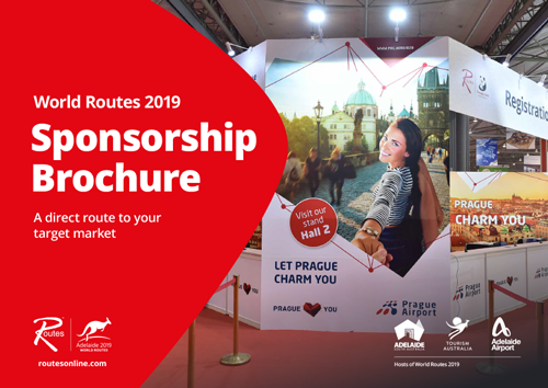 World Routes 2019 Sponsorship Brochure Cover