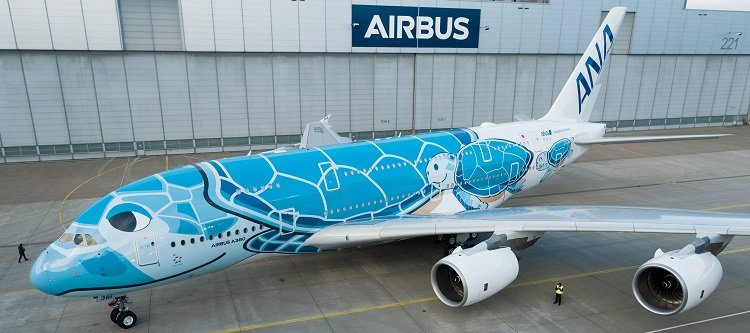 First-A380-ANA-rolls-out-of-paintshop cropped for update