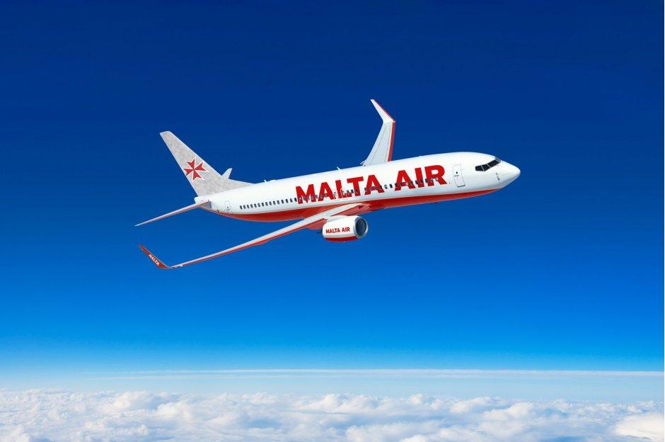 Malta air livery