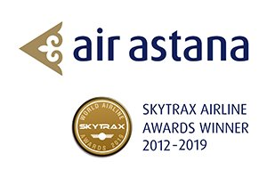Air Astana Logo (updated to awards version) 300x200