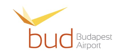 Budapest Airport logo for awards page