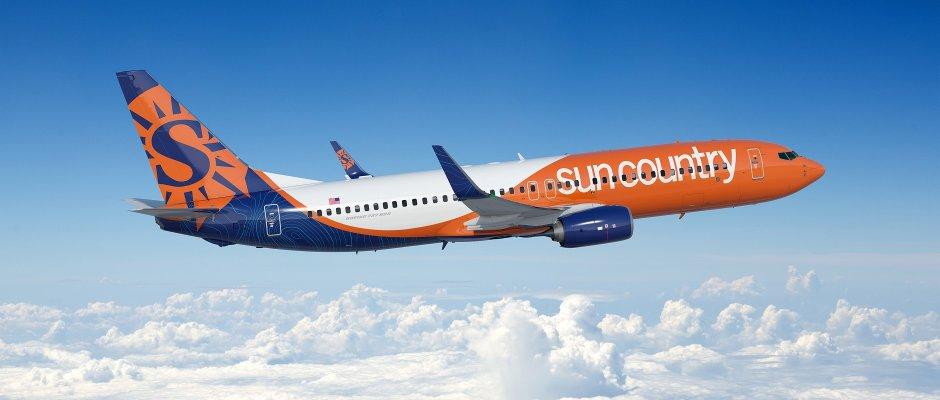sun country-737-800 rundown
