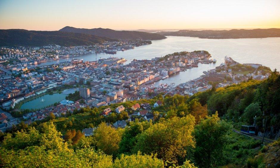 Bergen - Mountain View
